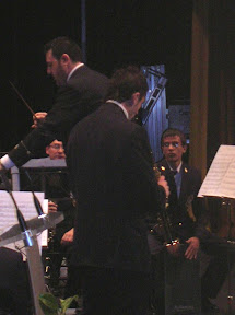 Asociación Unión Musical Bailenense (Jaén). El saxofón soprano realizando su magistral solo de Palindromía Flamenca