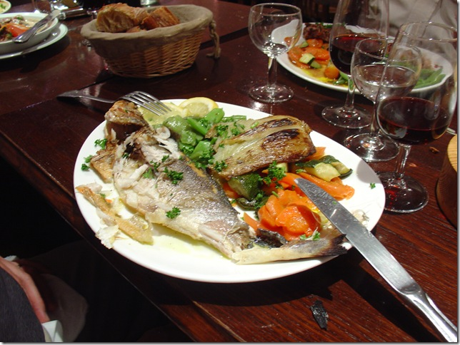 Fish, With Baguette in the Background