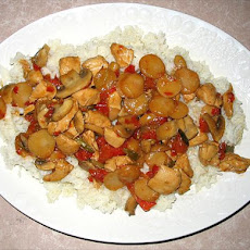 Oriental Chicken Stir Fry