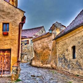 Rasnov, Romania by Eduard Andrica - City,  Street & Park  Neighborhoods