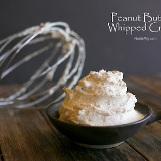 Peanut Butter Whipped Cream Recipes