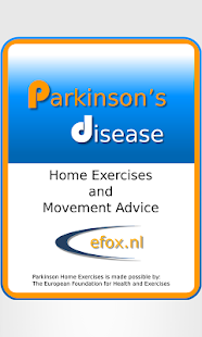 Parkinson Exercises Tablet screenshot for Android