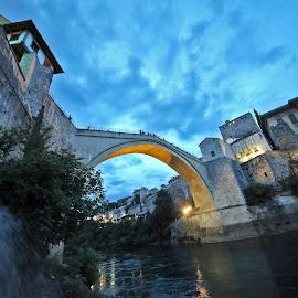 Old Bridge, Mostar by Almas Bavcic - Buildings & Architecture Bridges & Suspended Structures