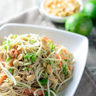 Cold Thai Peanut Noodle Salad Recipes