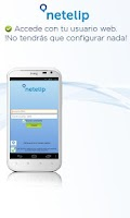 Screenshot of Netelip Phone