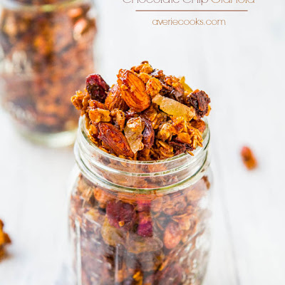 Big Clusters Maple Cinnamon Chocolate Chip Granola (vegan, gluten-free)