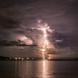 Thunder Rage by Rustam Razali - Landscapes Weather
