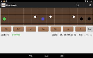 Screenshot of NDM-Ukulele (Music Notes)