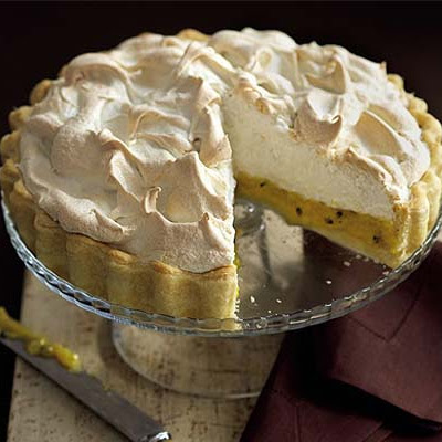 Passion Meringue Pie