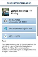 Screenshot of Fishhound.com Fishing Reports