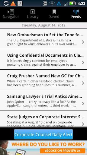 【免費商業App】Corporate Counsel Dig Edition-APP點子