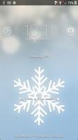 Screenshot of Xperia™ theme Winter Snow