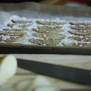 Homemade Cumin Apple Chips