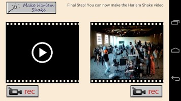 Screenshot of Harlem Shake Maker Slow Motion
