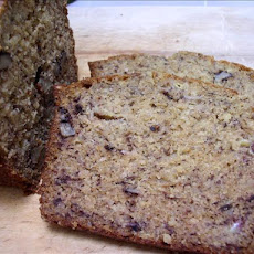 Quinoa Banana Bread, Regular or Sugar Free
