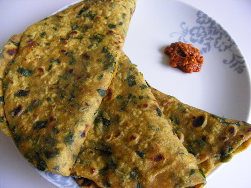 methi paratha recipe in marathi