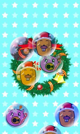 儿童聖誕節 遊戲(吹肥皂泡!)