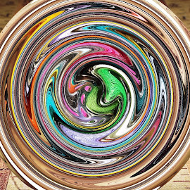 Bobbin Bubble by Marilyn Bass - Digital Art Things ( sew, sewing, boobins, arkansas photographer, machine bobbins, sews, sewing machine, arkansas )