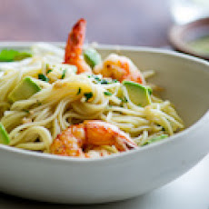 Shrimp & Avocado Noodle Salad