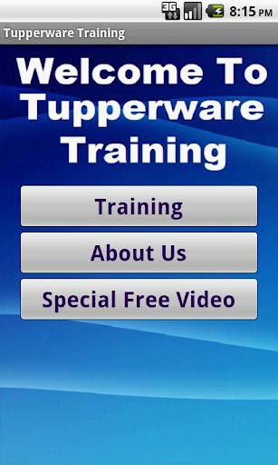 タッパーウェアのビジネストレーニング