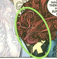 mensagens subliminares nos x-mem, imagem de cabelo