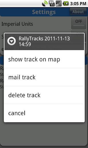RallyTracks - screenshot