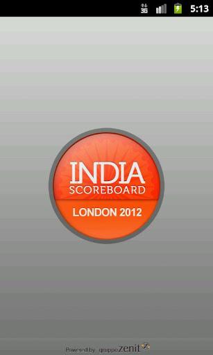 London 2012 - India ScoreBoard