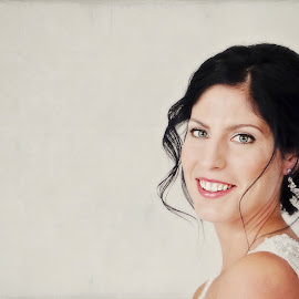 Anna by Alan Evans - Wedding Bride ( wedding photography, wedding day, wedding, aj photography, getting ready, bride )