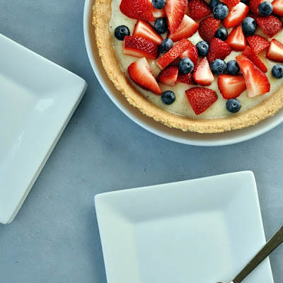 Fruit & Cream Pie