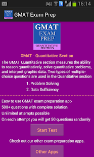GMAT Exam Prep - screenshot