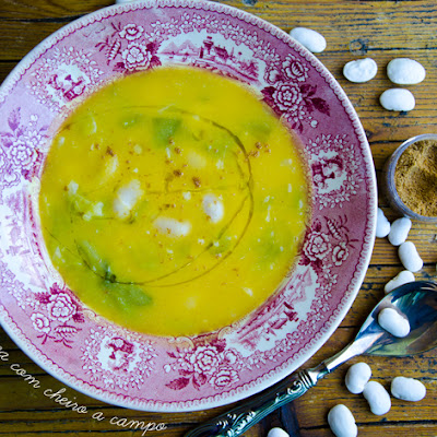 Lima Bean and 4 Spices Soup