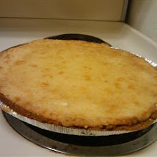 Sour Cream Pear Pie