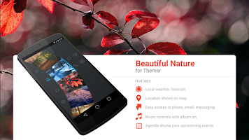Screenshot of Beautiful Nature Theme