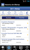 Screenshot of Empleo - Trabajo
