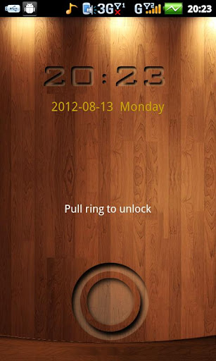 wood style theme GO Locker