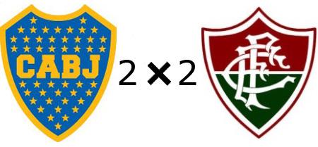 Boca Jrs 2x2 Fluminense