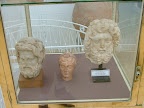 marble head of Zeus, Circa Roman Empire/era