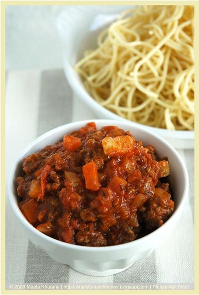 SpaghettiBolognese 01 framed