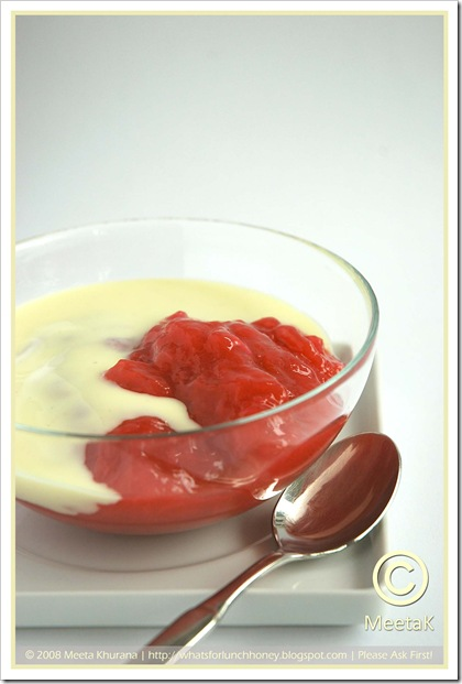 Rhubarb Compote (02) by MeetaK