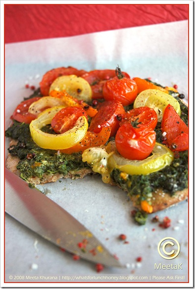Spinach Tomato Tarte (03) by MeetaK