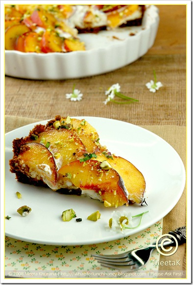 Peach Goat Cheese Tart (04) by MeetaK