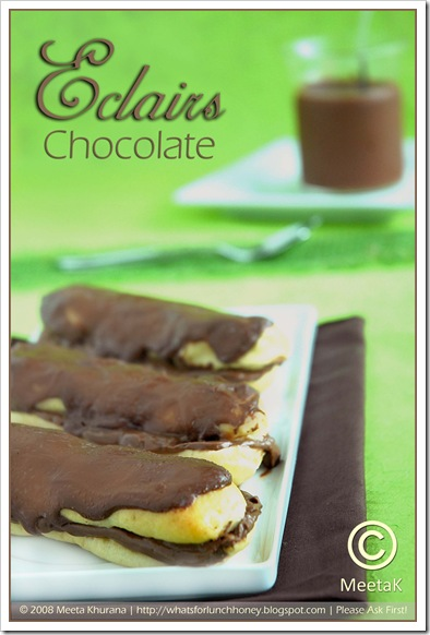 Choc Eclairs (01) by MeetaK