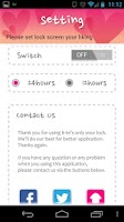 Screenshot of Only Your Lock;DIY Lock Screen