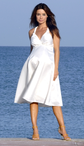 Beach Maternity Wedding Dresses
