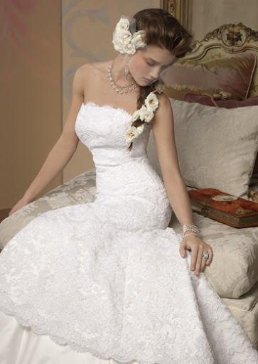 Natural White Wedding Dress 11