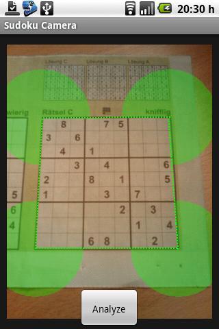 Sudoku Camera