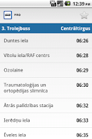 Screenshot of Transport in Riga PRO