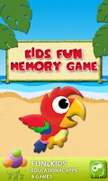 Screenshot of Kids Fun Memory Game