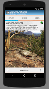 WarrumbungleSnap - screenshot