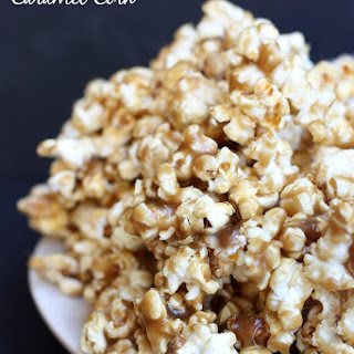 5-Minute Caramel Corn